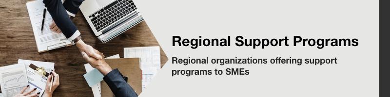 Regional support programs